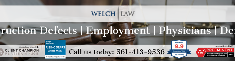 Estate Planning Attorney In North Palm Beach Florida | Welch
