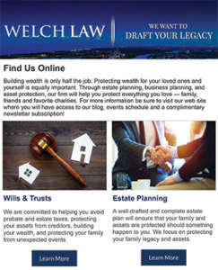 Monthly Estate Planning Newsletter